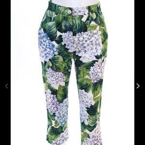 Dolce Gabbana Hydrangea pants